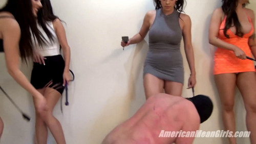 The slave Femdom and Strapon