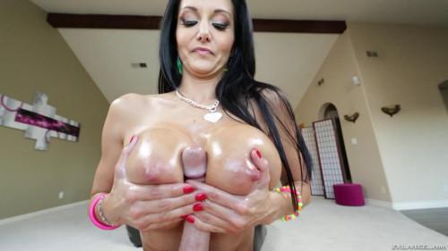 Oily Tits Ava Addams