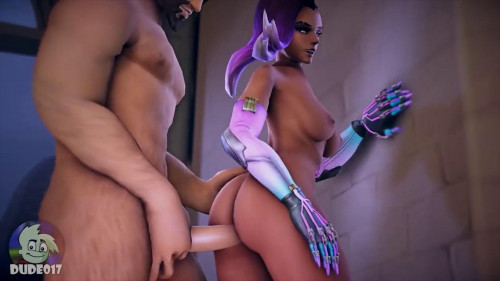 "Best Animated Porn Compilation : ""Overwatch Ebony"" Edition Anime and Hentai"