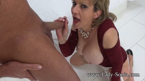 Lady Sonia – A Fan Shoots His Cum All Over Me Part Two