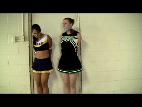 Anna and Serene Cheerleader Party In Davids Basement!