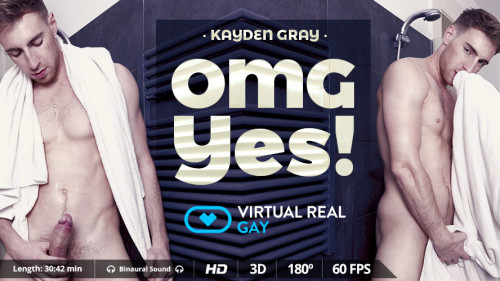 Virtual Real Gay - Omg Yes! - Kayden Gray Gay 3D stereo