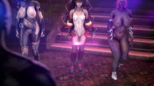 Taimanin Doujin Episode 4 Banquet 3D Porno