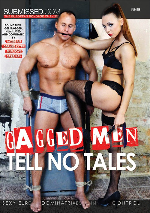 Gagged Men Tell No Tales Femdom and Strapon