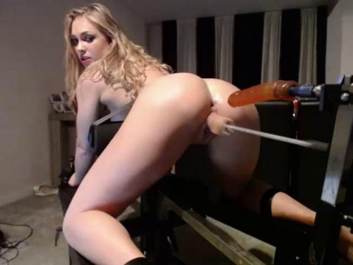 Elise toys and Sex machine