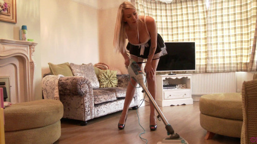 Sexy Maid Cleaning Erotic Video