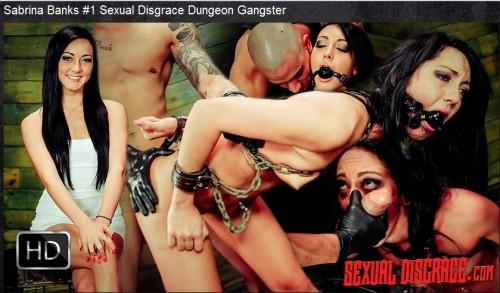 Sexualdisgrace - Nov 05, 2015 - Sabrina Banks #1 Sexual Disgrace Dungeon Gangster