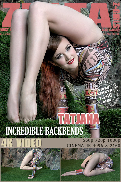 Zlata - Dec 15, 2016 - Incredible Backbends Erotic Video