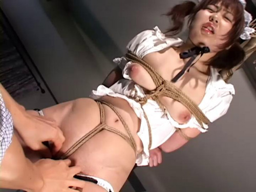 Shaved Maid Loves Punishment