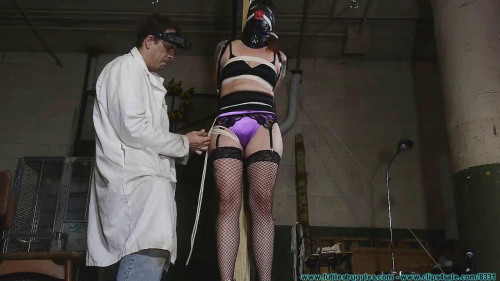 Polly Post in underwear - Part 1 BDSM