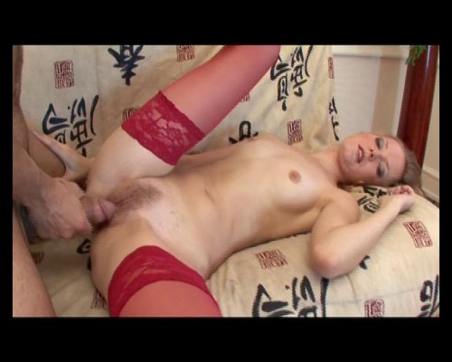 Pale blondie playing sex games