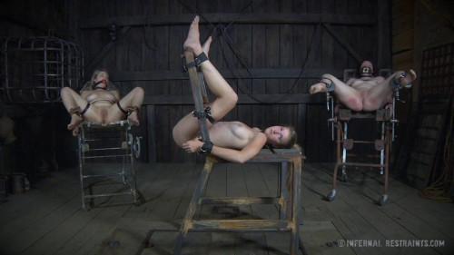 InfernalRestraints  Winnie Rider Ashley Lane Restraint bondage Is The Recent Darksome: Clip THREE-SOME
