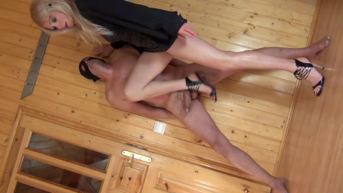 Blowjob With The Carrot And The Stick Femdom and Strapon