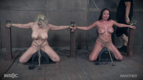 Nasty Ladies Nyssa and Nadia acquire tormented jointly
