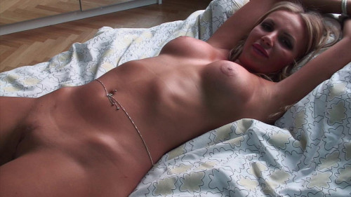 Francesca Bound Bawdy cleft Clit Fingered To Big o - HD 720p