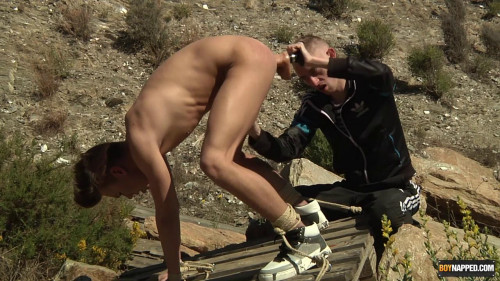 Justin Gets His Hole Used And Pissed In!