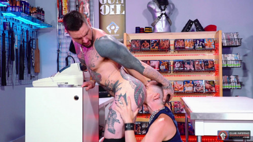 Fisting Theater - Scene #05 - Axel Abysse & Teddy Bryce (1080p) Gay Unusual