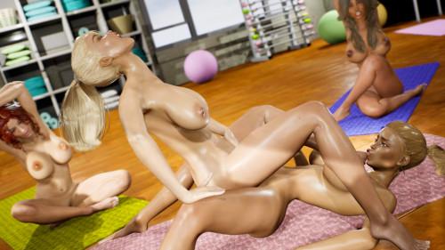 Yoga Class - Tantric Sex Basics 1 & 2 Bundle Comics