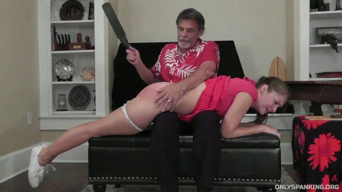 Hard tying, domination and spanking for lustful whore