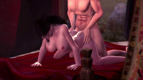 Cartoon world collection 3D Porno