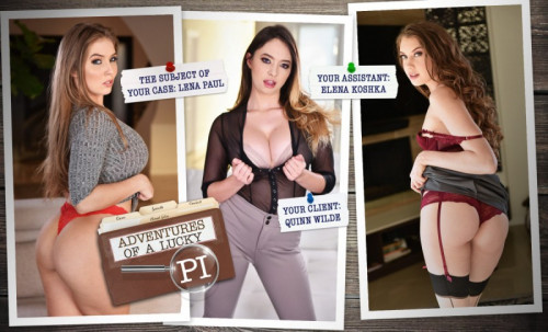 Adventures of a Lucky PI Porn Games