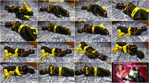 Simone - Batgirl Balancing act BDSM