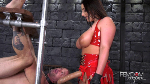 Sodomized Ass Whore Femdom and Strapon