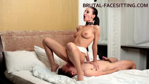 Brutal Facesitting - Hazel Dew - Scene 1 - Full HD 1080p Femdom and Strapon