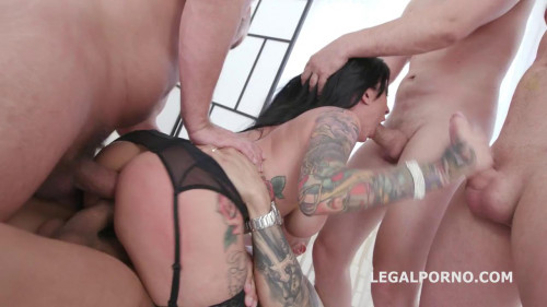 Monsters of DAP with Lily Lane Balls Deep Anal Orgies