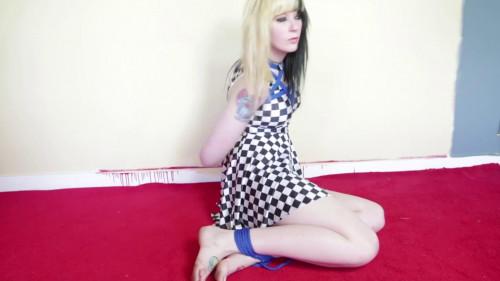 Roxanne in Blue Rope