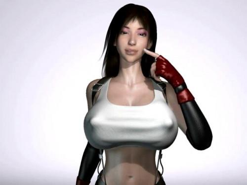 Tifa Sex Marathon 3D Porno