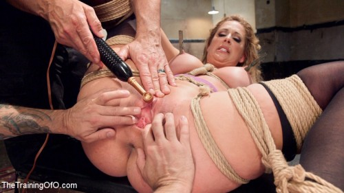 Slave Training a Big Tit Blonde Bombshell In Bondage, Day One BDSM