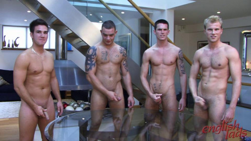 Four  Straight  Hunks   Contest  Leon  Andy  Jay  Hayden