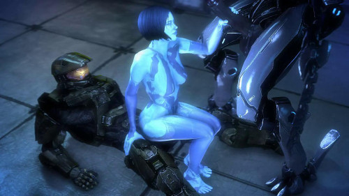 Cortana 3D Porno