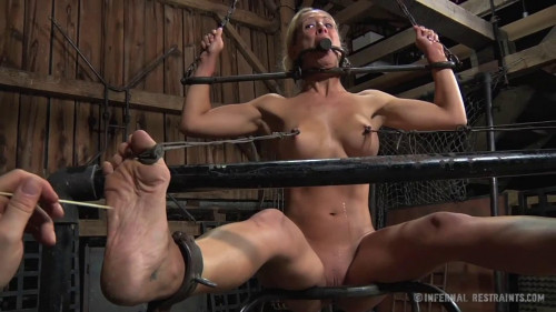 Restraint bondage, strappado, spanking and punishment for doxy part TWO HD 1080p