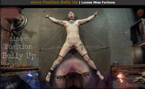 Sensualpain slave Position Belly Up