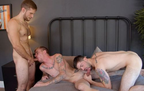 In The Action - Ryan Jordan, Julian Brady And David Skyler (1080P)