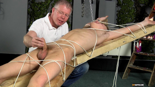 Reece Gets His Balls Drained Gay BDSM