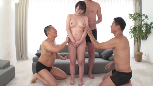 Foursome Fantasy With A Plump Girl