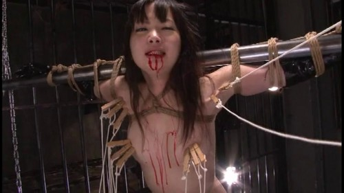 Spinning Woman Spy Torture Asians BDSM