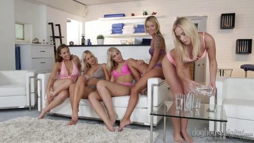 4 on 1 Lesbian Gang Bang vol 2 Lesbians