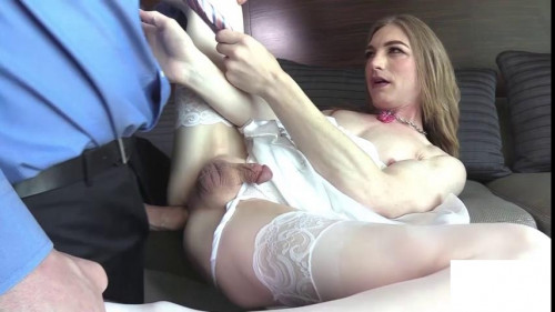 Samantha Smiles - Submissive Sex Doll Gets Fucked Hard Transsexual