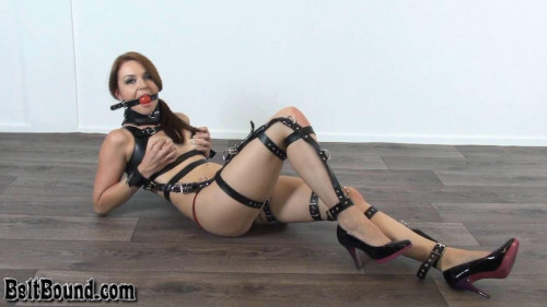 Taylor testing our recent full body restraint