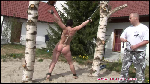 Toaxxx - tx179 Outdoor Bullwhip Session for Yvette