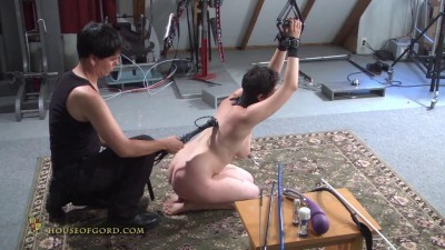 Kinky Barstool Oral Training-Judgement Day Part 3 Aug15 2014