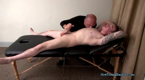 STeasingHandjobs - Tommy Hanging on the Edge Gay BDSM