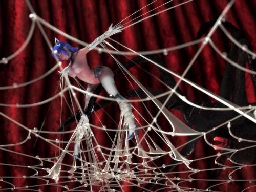 Ulala Spider Costume Break 3D Porno