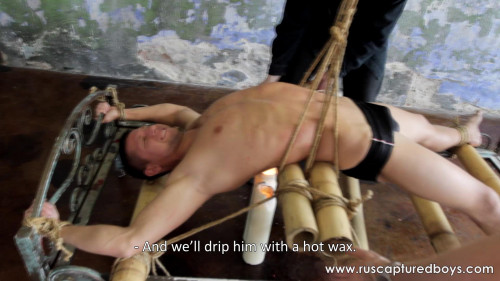 BDSM  Rus Captured Boys - Full collection part4.