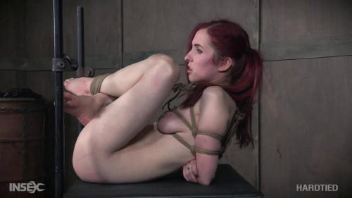 Penny Lay Tied BDSM