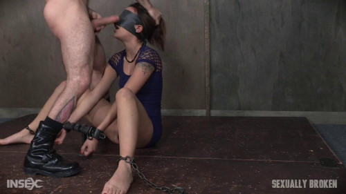 Sophia Grace is bound, blindfolded, vibrated, to brutal orgasms!